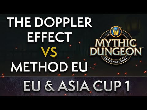 The Doppler Effect vs Method EU | Day 1 Upper Quarters | MDI EU & Asia Cup 1