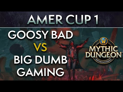 Goosy Bad vs Big Dumb Gaming | Day 1 Upper Quarters | AMER Cup 1