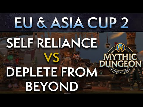 Deplete from Beyond vs Self Reliance | Day 1 Upper Quarters | EU & Asia Cup 2