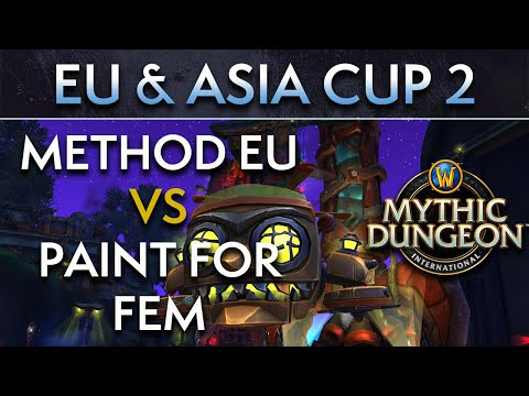 Method EU vs Paint for Fem | Day 1 Upper Semis | EU & Asia Cup 2