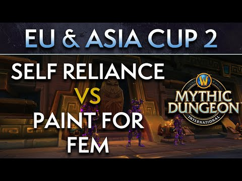 Paint For Fem vs Self Reliance | Day 2 Lower Quarters | EU & Asia Cup 2