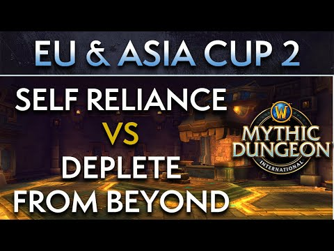 Deplete from Beyond vs Self Reliance| Day 2 Lower Semis | EU & Asia Cup 2