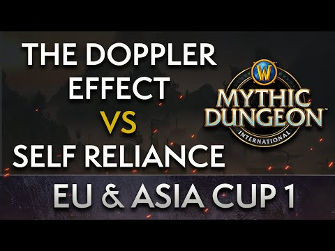 Self Reliance vs The Doppler Effect | Day 1 Lower Round 1 | MDI EU & Asia Cup 1