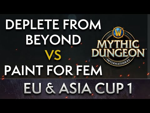 Paint for Fem vs Deplete from Beyond | Day 2 Lower Quarters | MDI EU & Asia Cup 1