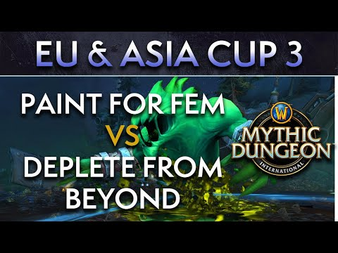 Deplete from Beyond vs Paint for Fem | Day 1 Upper Quarters | EU & Asia Cup 3