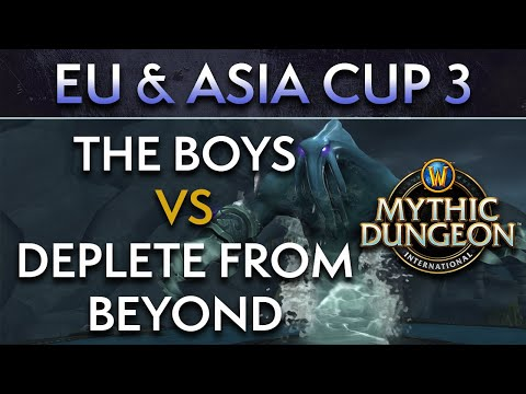 Deplete from Beyond vs The Boys | Day 2 Lower Quarters | EU & Asia Cup 3