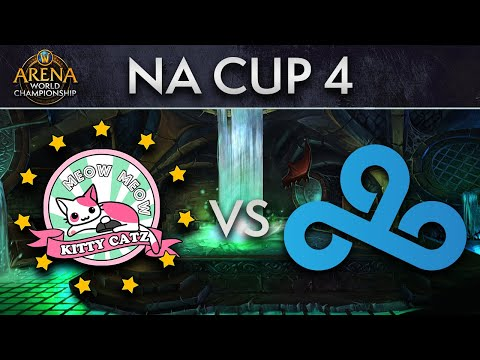 Cloud9 vs Meow Meow Kitty Catz | Upper Quarters | AWC NA Cup 4
