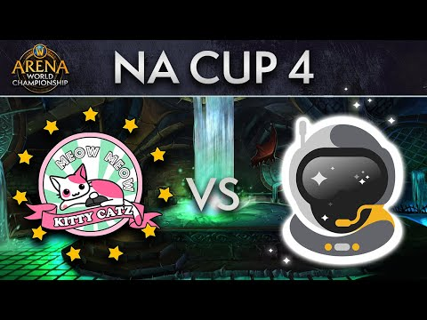 Meow Meow Kitty Catz vs Spacestation Gaming | Upper Final | AWC NA Cup 4