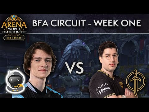 Spacestation Gaming vs Golden Guardians | AWC BFA Circuit | Week 1 - Day 2