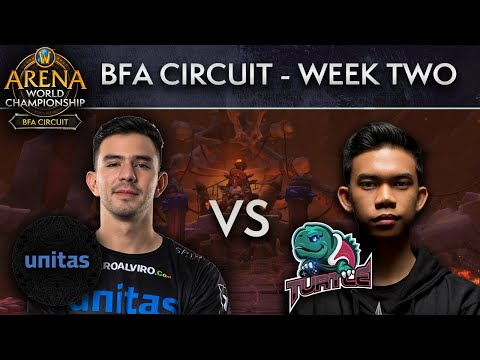 Turtle vs Unitas | AWC BFA Circuit | Week 2 - Day 2