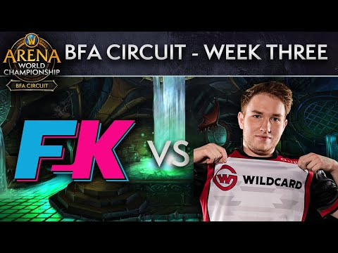Wildcard Gaming vs F2K MyWay | AWC BFA Circuit | Week 3 - Day 2
