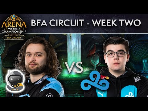 Cloud9 vs Spacestation Gaming | AWC BFA Circuit | Week 2 - Day 2