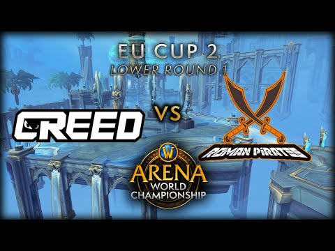 Creed vs Roman Pirates | Lower Round 1 | AWC Shadowlands EU Cup 2