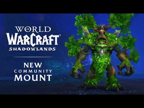New Community Mount: The Wandering Ancient