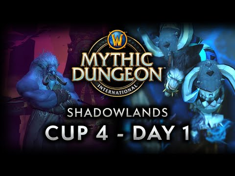 MDI Shadowlands Cup 4   Day 1 Full VOD